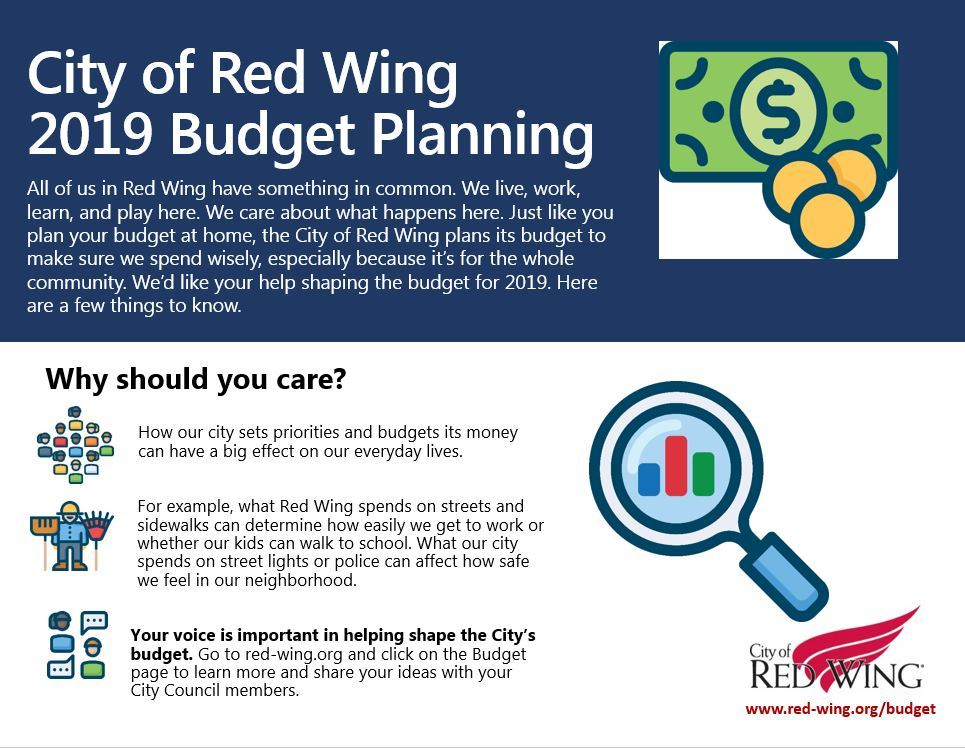 Image of first budget graphic