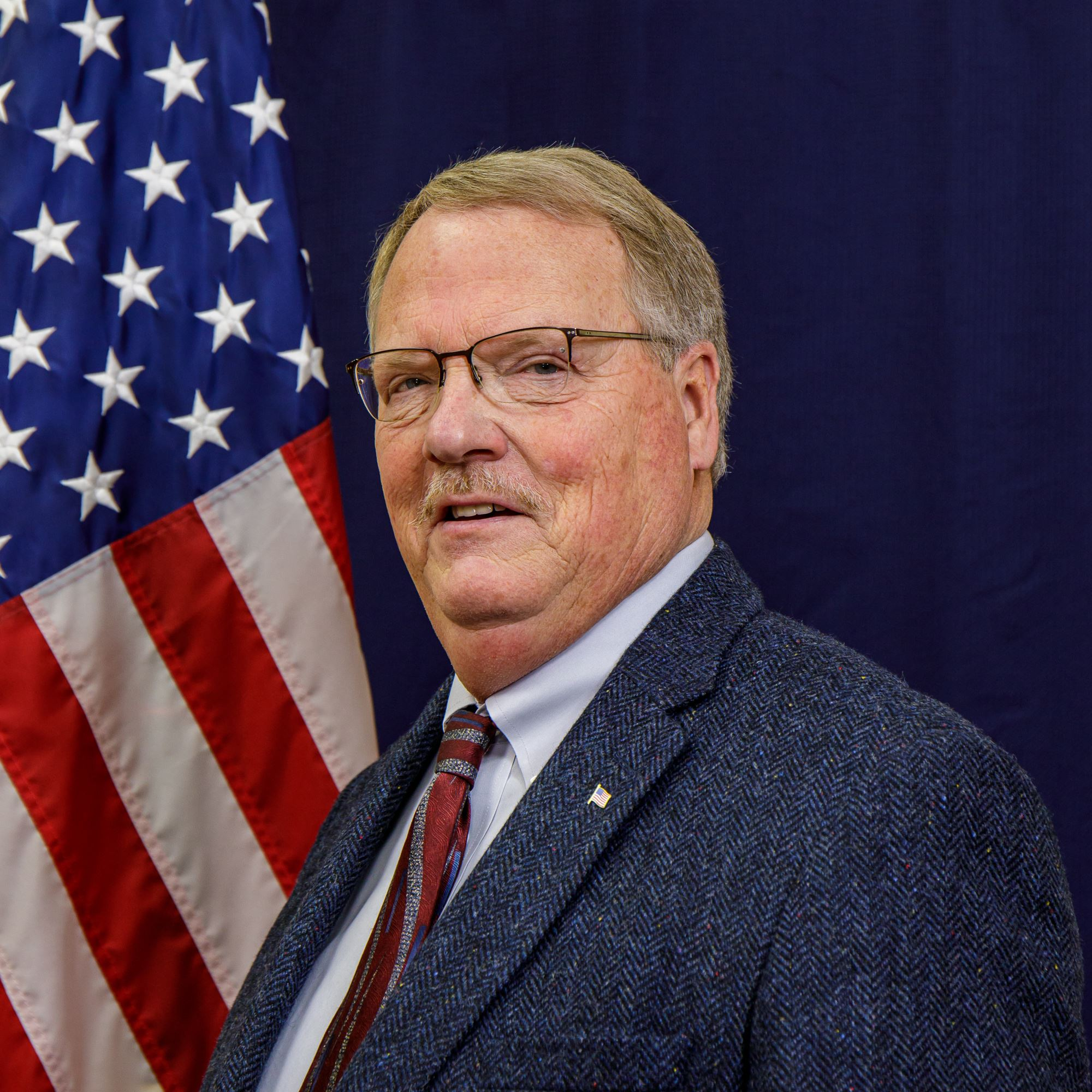 Portrait photo of Mayor Mike Wilson