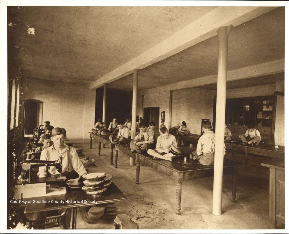 Training school in Early 1900s