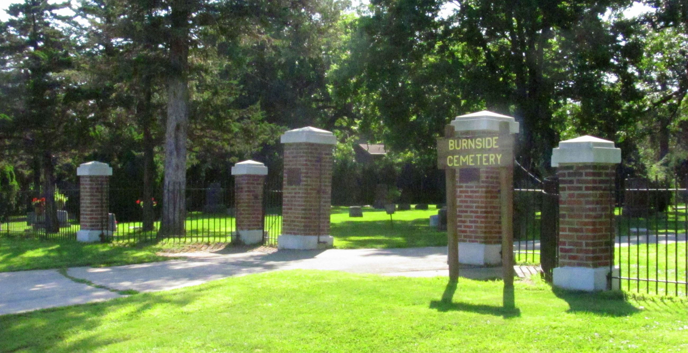 Burnside Cemetery Entrance