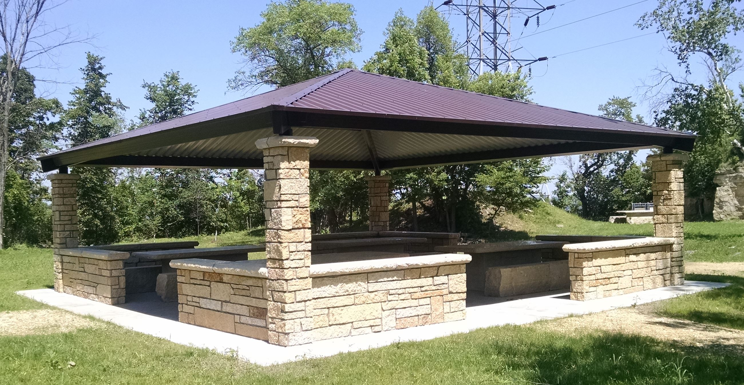 Memorial Park Shelter - Upper Quarry