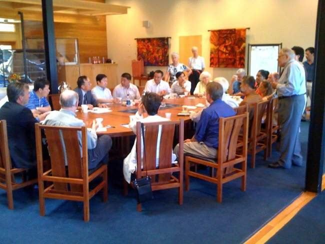 Chinese Delegation Meeting with City Officials and Sister City Commissioners